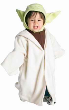 Star Wars Yoda Fleece Costume Toddler US 2T-4T