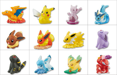 Kimewaza Pokemon Kids BW5 Eevee Set Bandai