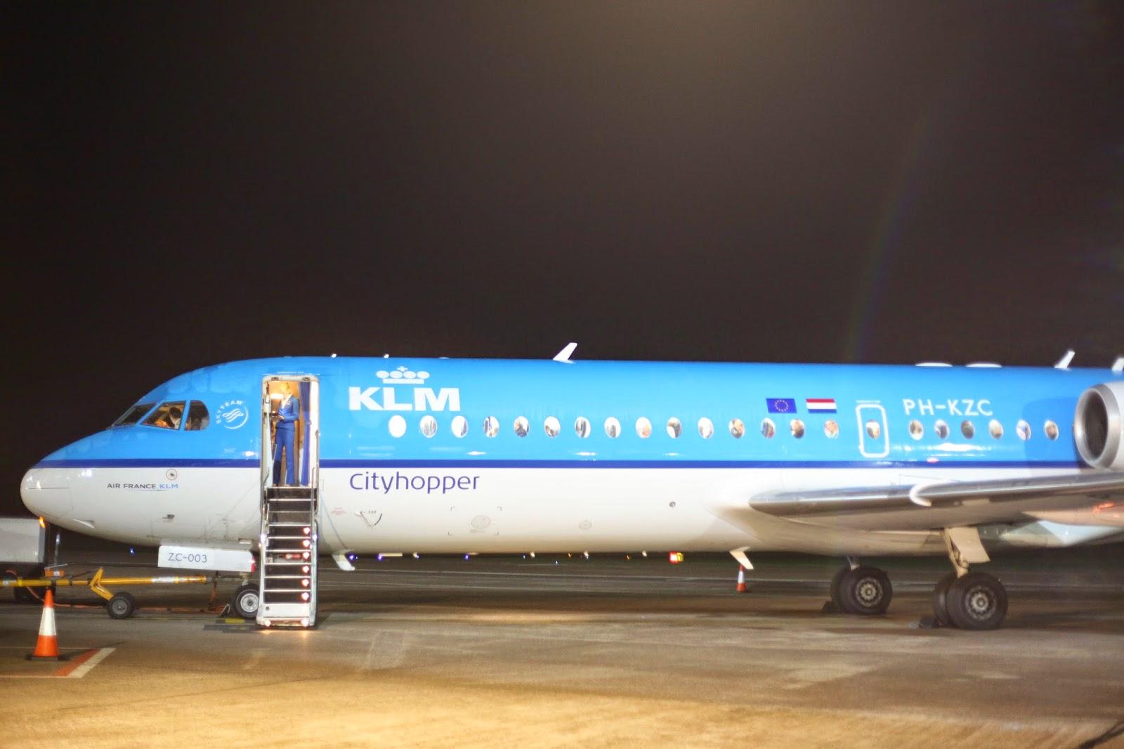 KLM cityhoppper