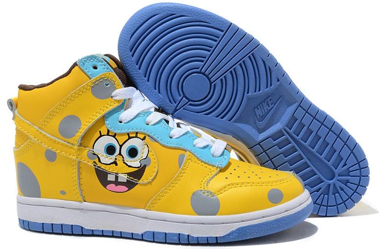 nike spongebob spongebob squarepants nike dunk