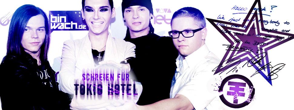 Schreien für Tokio Hotel