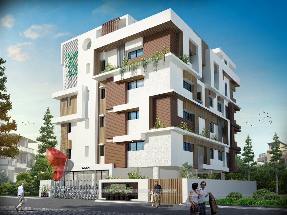 Commercial building elevation designs india joy studio for Apartment plans in india