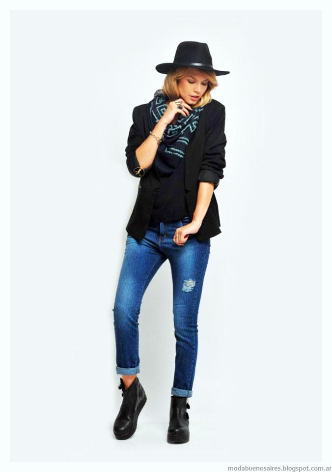 Jeans invierno 2015 moda otoño invierno 2015 Zhoue
