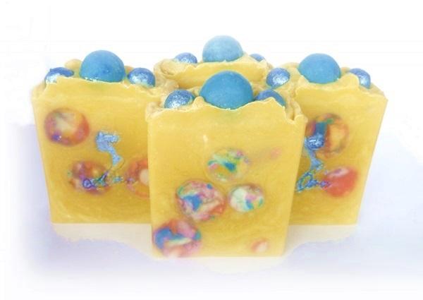 diva soap, soap embeds, summer, satsuma