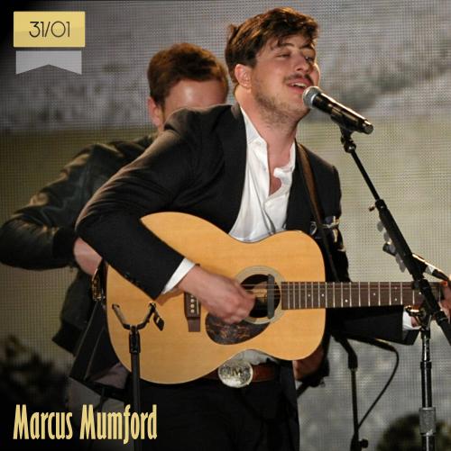 31 de enero | Marcus Mumford - @MumfordAndSons | Info + vídeos