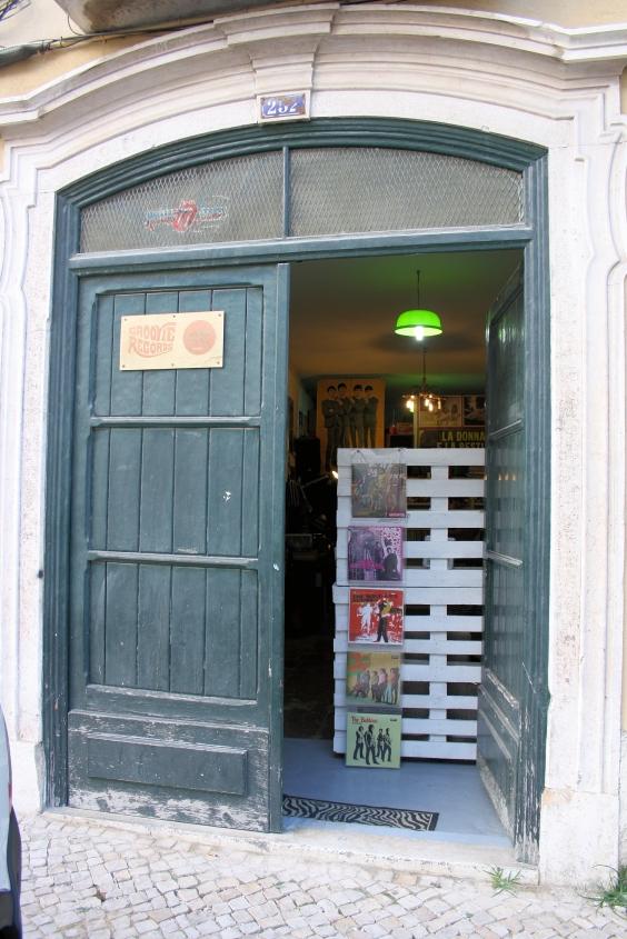 Lisbon Record Shops Groovie Records