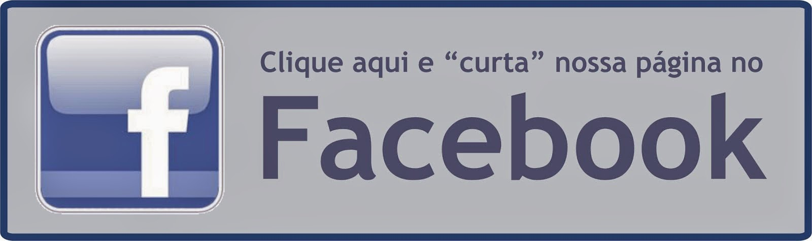 Estamos no Facebook!