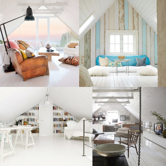 The secret is to dream blog category klein wonen - Decoratie zolder ...
