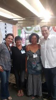 ex primeira dama, nossa presidente Fatima, associada Suely e o nosso ex prefeito Vitor Lippi
