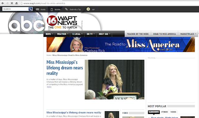WAPT-TV - Miss Mississippi: Road to Miss America