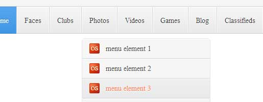 Neat Header and Menu with Css3