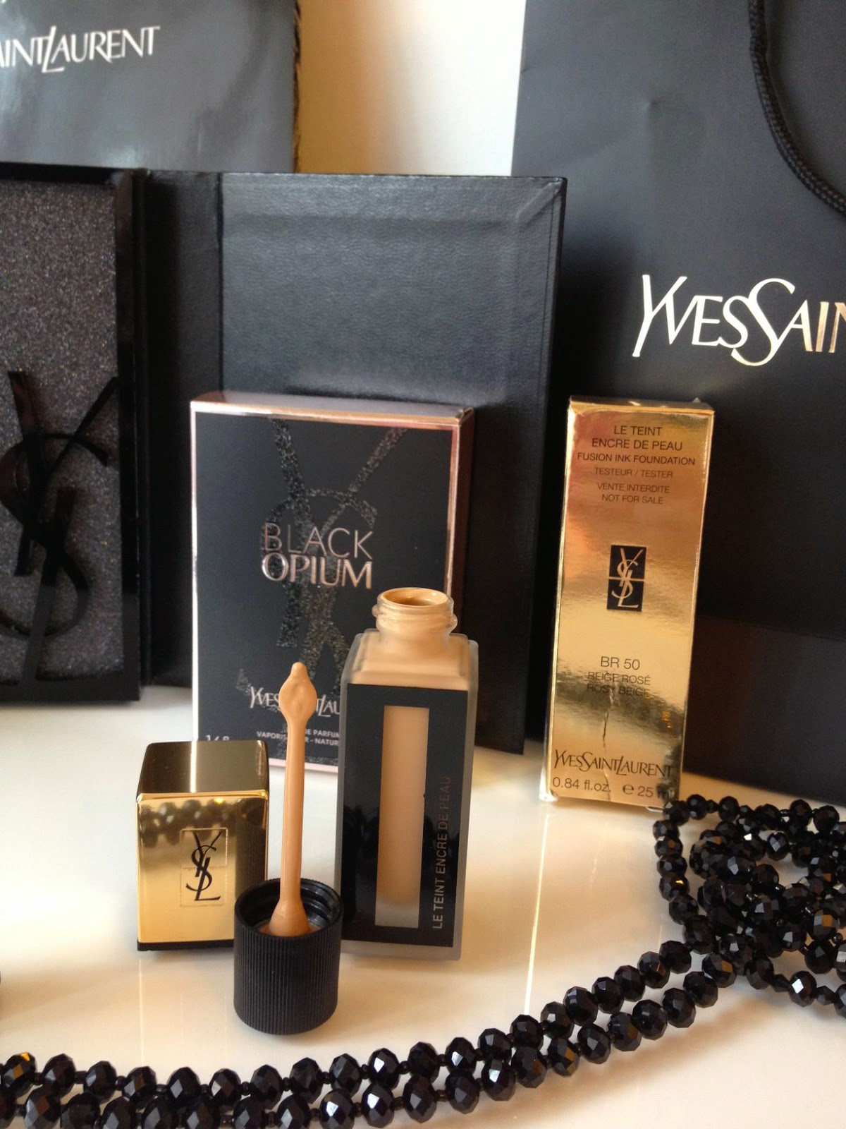 Teint Encre de Peau, new foundation from Yves Saint Laurent Beauté, Fashion and Cookies, fashion blogger