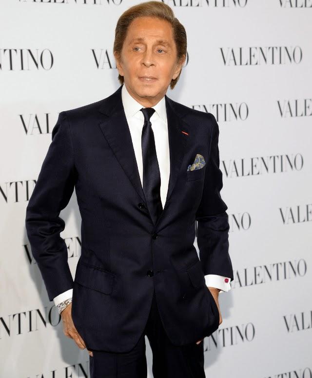 El diseñador italiano en su fiesta