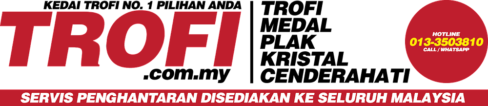Trophy Malaysia | Plaque Malaysia | Trophy Supplier | Kedai Trofi | Medal Murah