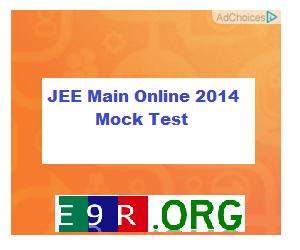 JEE Main Online 2014 Mock Test