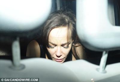 Tara Palmer-Tomkinson leaves The Box looking rather worse
