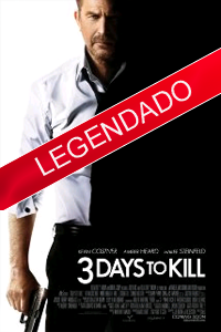 Poster do Filme 3 Days to Kill