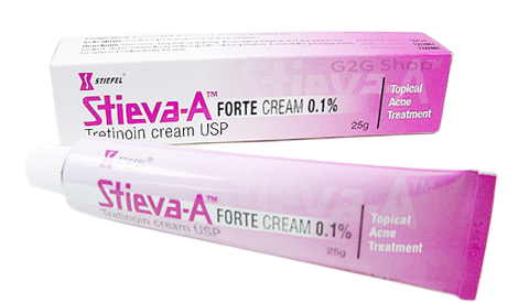 Stieva-A Cream รักษาสิวอุดตัน