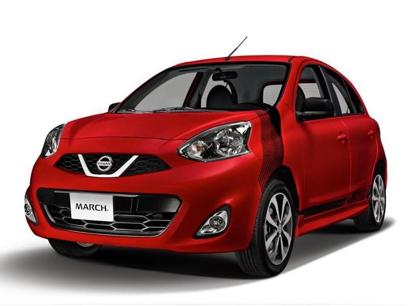 CARROS TEN (10): A reestilização do Nissan March 2015 teve como