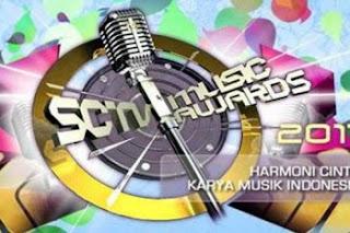 Nominasi Sctv Music Award 2013