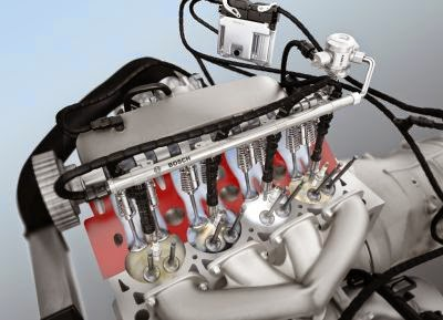 Sistemul Bosch de injectie directa de benzina