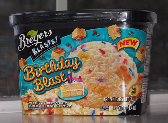 Brand Breyers Name Birthday Blast