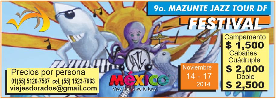 Viaje y/o Hospedaje - Festival de Jazz de Mazunte 2014