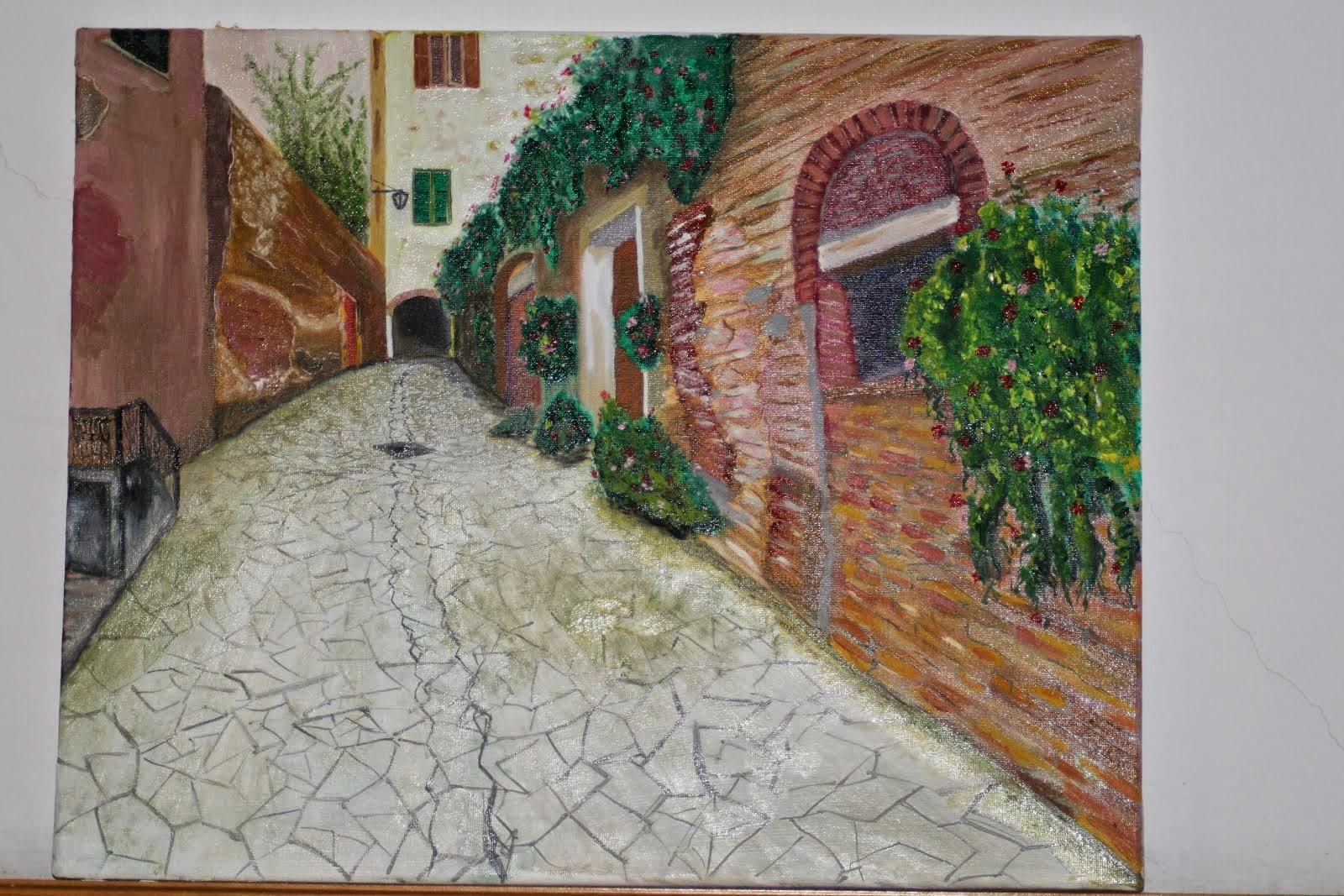 Toscana (Vicolo) Pittore-Galletti.Guglielmo.
