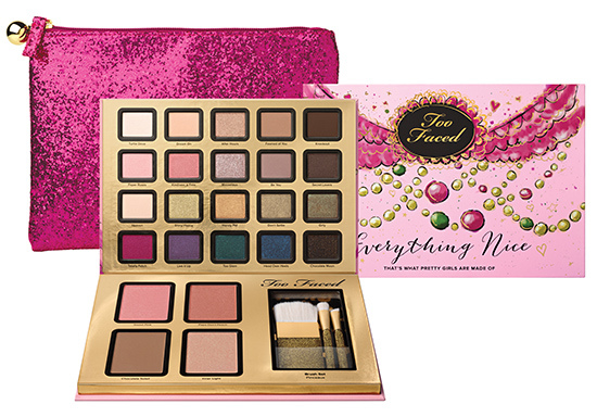 Too Faced Everything Nice Set: A quick review  Vancouver beauty blogger