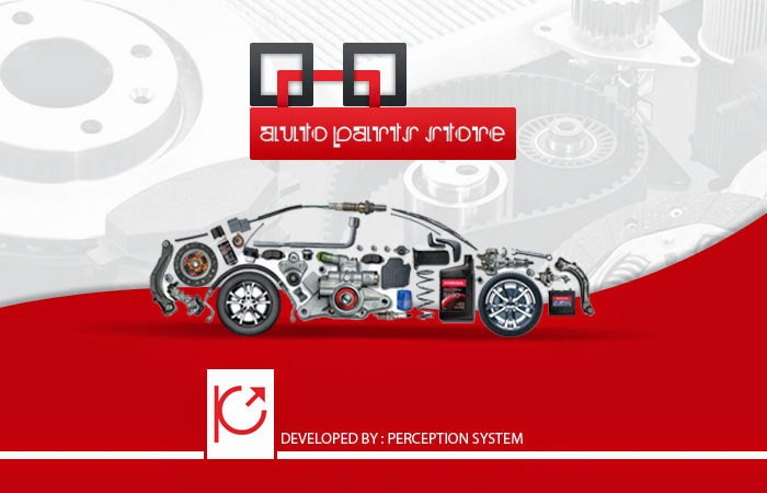 Responsive Autoparts Custom Theme by Perception System