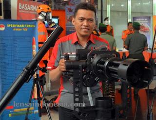 SMML kaliber 7,62 mm Buatan Indonesia