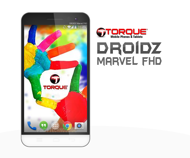 Torque Droidz Marvel FHD