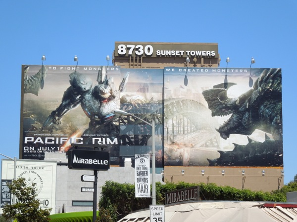 Giant Pacific Rim billboard