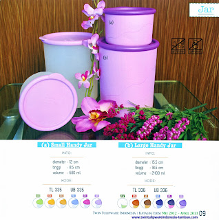 Info & Harga Twin Tulip Tulipware 2014 : Small Handy Jar - Large Handy Jar
