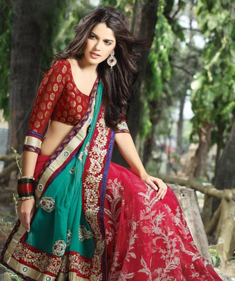 Bollywood Actress Saree Fashion Designs Actress Saree Designs Ramkrushna Embroidery