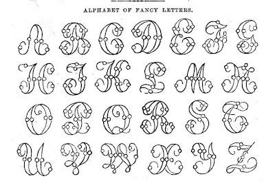Printable Fancy Alphabet Letters