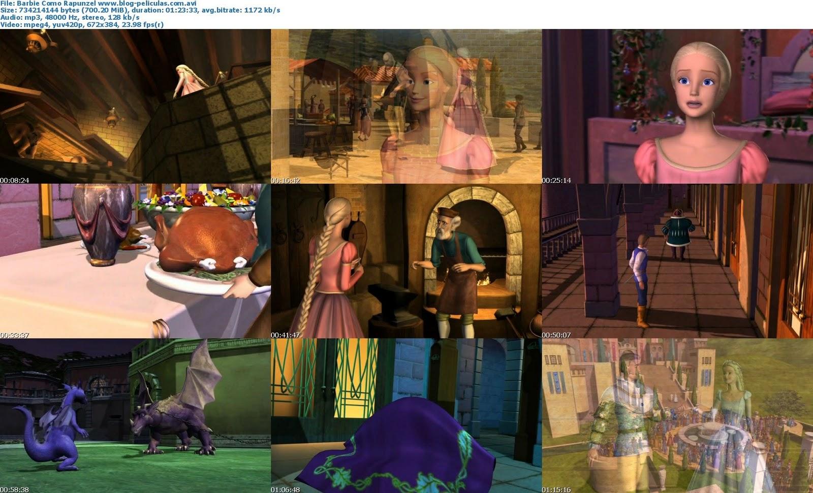 barbie rapunzel castellano online dating