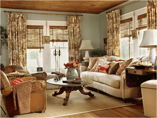 Cottage Style Living Rooms Alluring With Cottage Style Decorating Living Room Pictures