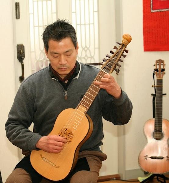 古代の創造楽器