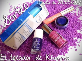 "Sorteo especial primavera en ""El Tocador de Khimma"""