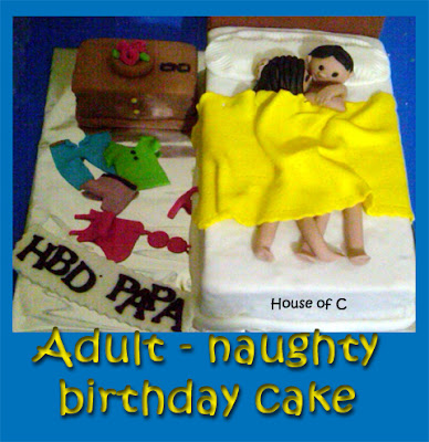 Birthday Cake Pictures Naughty : House of C: Adult (naughty) birthday cake