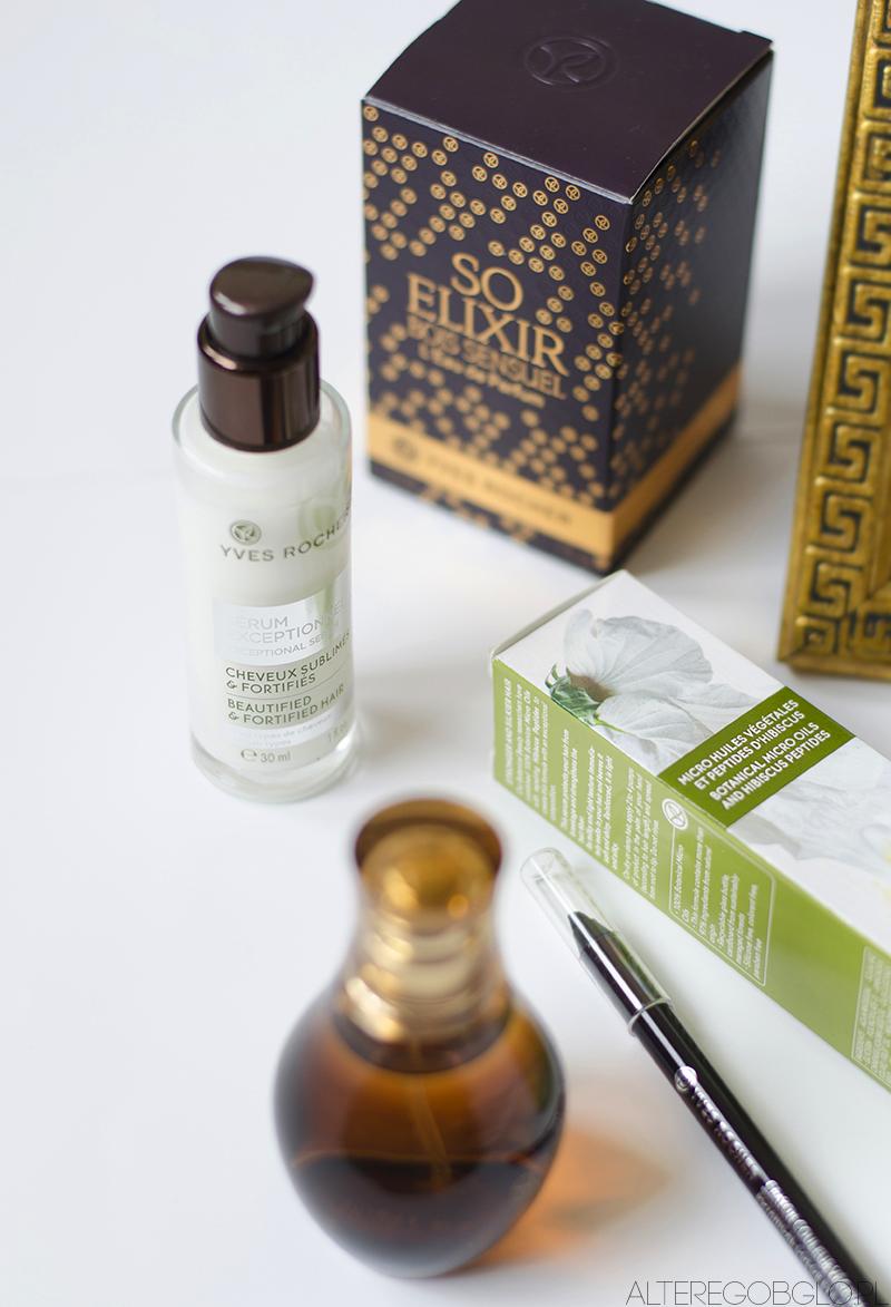 YVES ROCHER | Trzy ciekawe kosmetyki: pielęgnacja włosów, makijaż i zapach