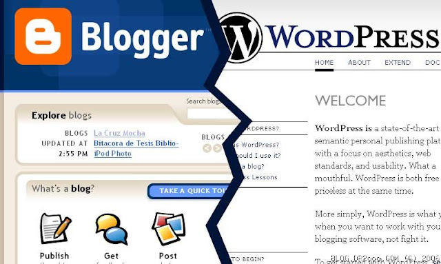 blogger vs wordpress heating up conflict