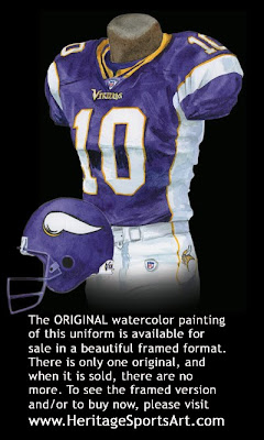 Minnesota Vikings 2006 uniform