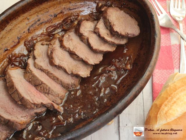 Lazy blog solomillo de ternera en salsa teriyaki receta for Cocinar solomillo de ternera al horno