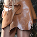 Handmade Leather Skirts for the Autumn 2013