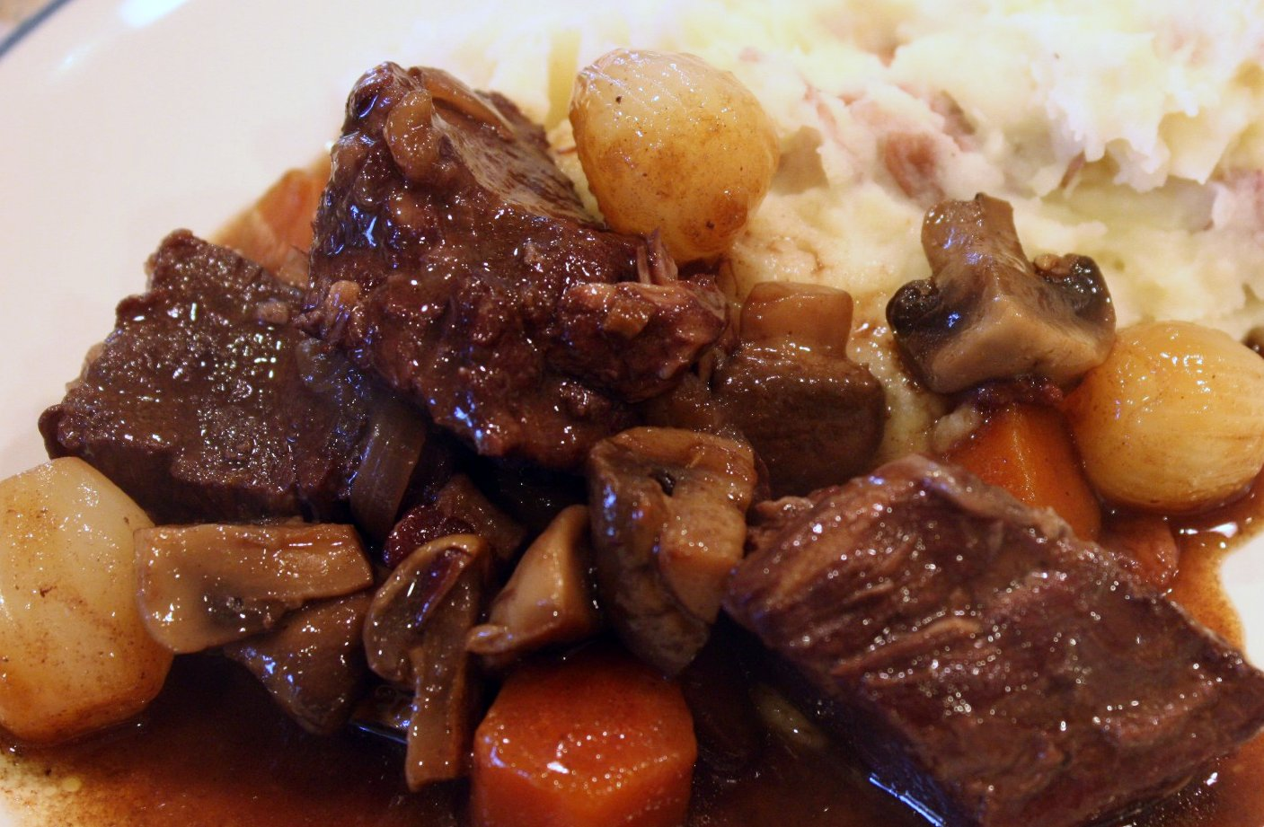 A Cooking Dad: Daring Cooks: Boeuf Bourguignon