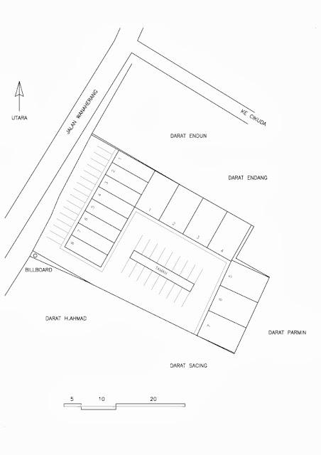 Site Plan Gudang