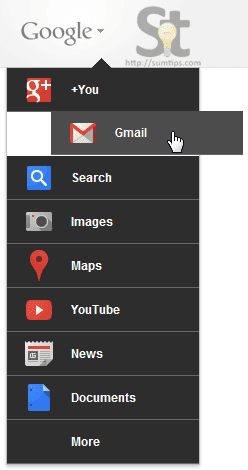 Customize Google Menu