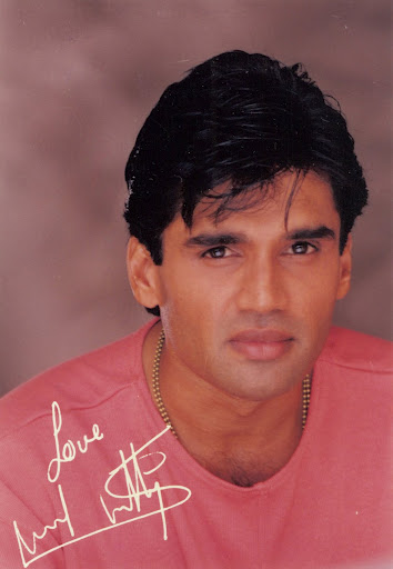 Sunil Shetty in young